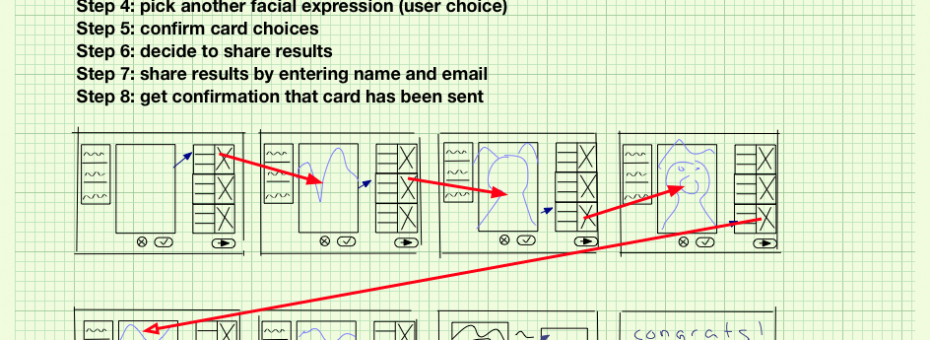 User Experience Storyboards